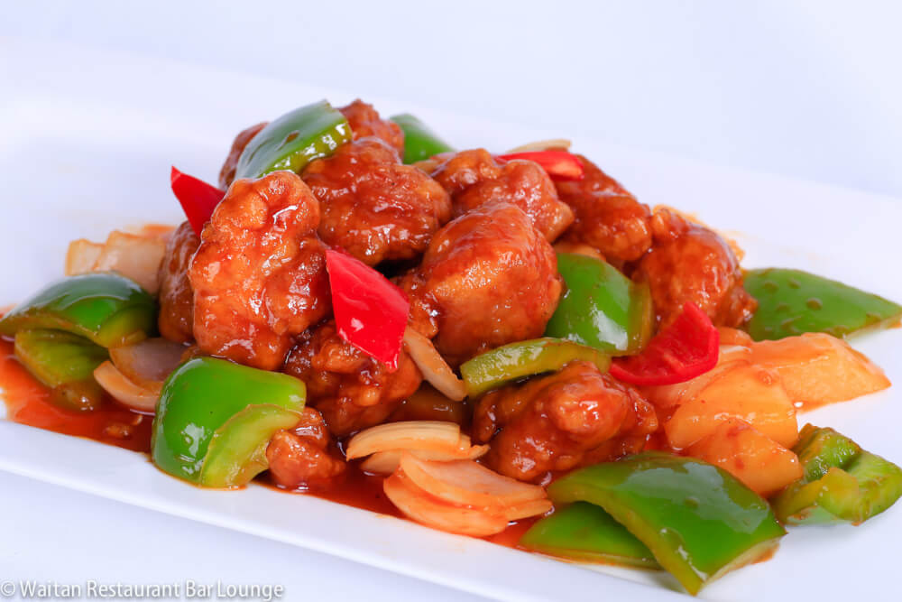 sweet and sour pork recipe