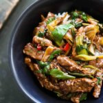Oriental Beef with Spring Onions Recipe