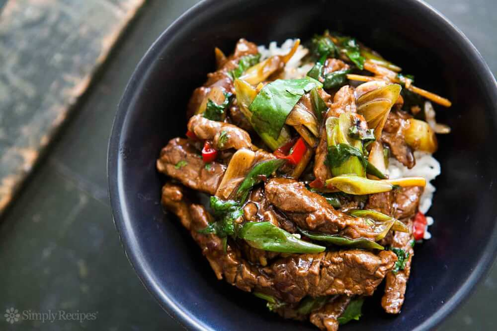 Oriental Beef With Spring Onions Recipe Recipe Ideas