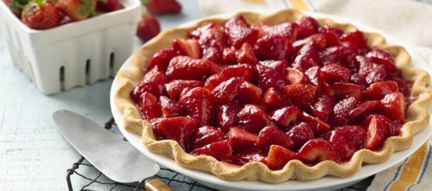 Sensational Strawberry Pie Recipe