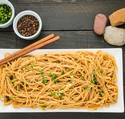 Szechuan Cold Noodles Recipe