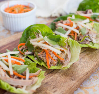 Vietnamese Lettuce Wraps Recipe