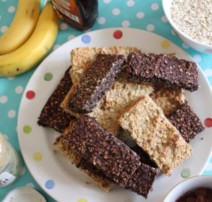 Chewy Flapjacks with Oats