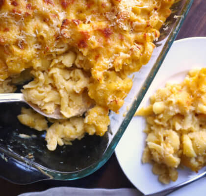 Macaroni Cheese with Cauliflower