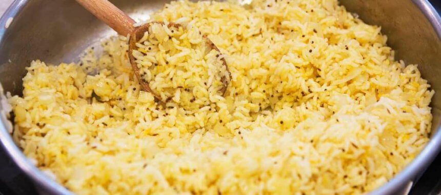 How To Cook Saffron Rice At Home